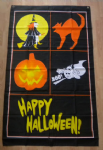 Happy Halloween Large Flag - 3' x 2'.